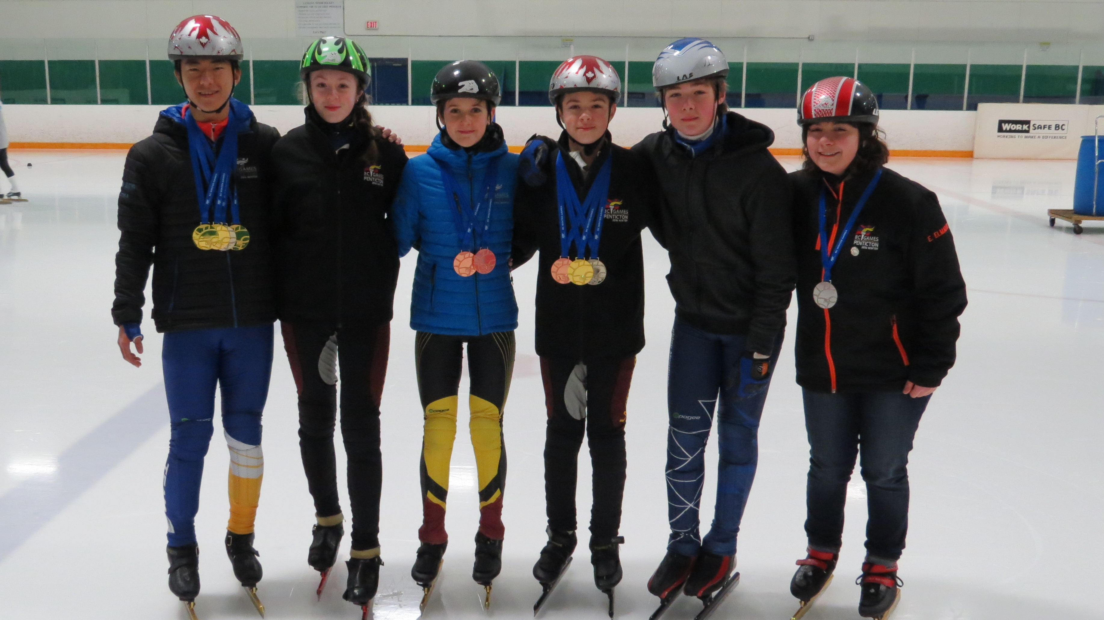 Group 3 BC Winter Games Medals
